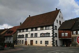 Hornussen, Aargau - Säckinger Amtshaus, built in 1594