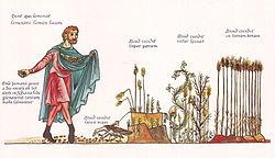 Hortus Deliciarum, Das Gleichnis vom Sämann.JPG