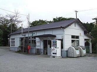 Hosoura Station - Hosoura Station in August 2009