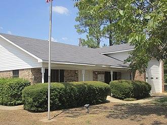 Hosston, Louisiana - Image: Hosston, LA, Village Hall IMG 5172