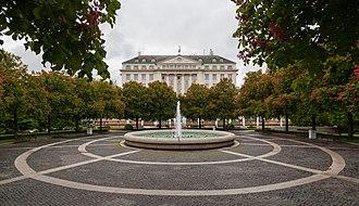 Esplanade Zagreb Hotel - Image: Hotel Esplanade, Zagreb, Croacia, 2014 04 20, DD 03