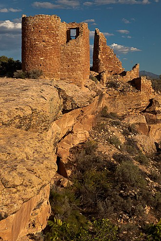 Montezuma County, Colorado - Castle, Hovenweep National Monument