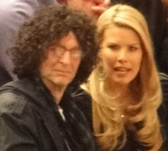 Howard Stern - Stern and Ostrosky in 2011.