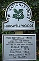 Hudswell Woods, National Trust Sign - geograph.org.uk - 950254.jpg