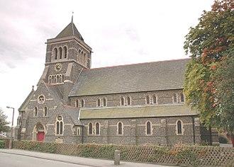 Hugglescote - Image: Hugglescote St John Baptist north