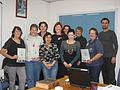 Hughenden Wikimedia Trainees 01.jpg
