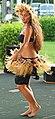 Hula dancer performing in Poipu, Kauai (4828569717).jpg