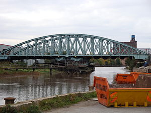 River Hull - The Hull and Barnsley Railway Bridge, built in 1885