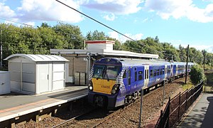 British Rail Class 334 - A Class 334 in Saltire livery