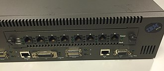 Token ring - Both Token ring and Ethernet interfaces on the 2210-24M