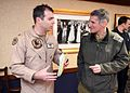 IDF Officers visit Supercarrier USS George H. W. Bush (CVN 77) (32861792156).jpg