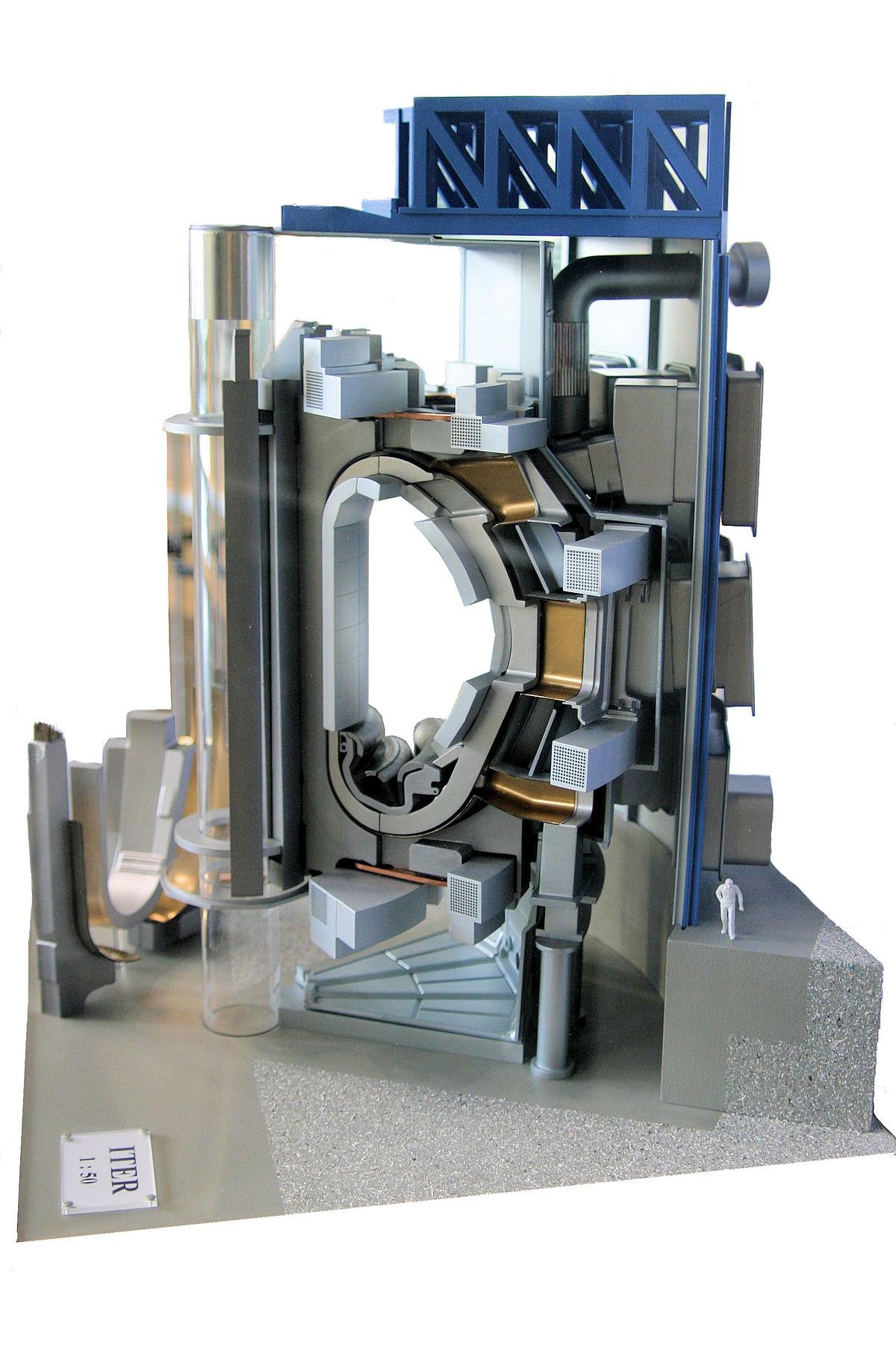 Fusionsreaktor Iter