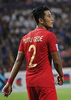 Putu Gede Indonesian footballer/soccer player