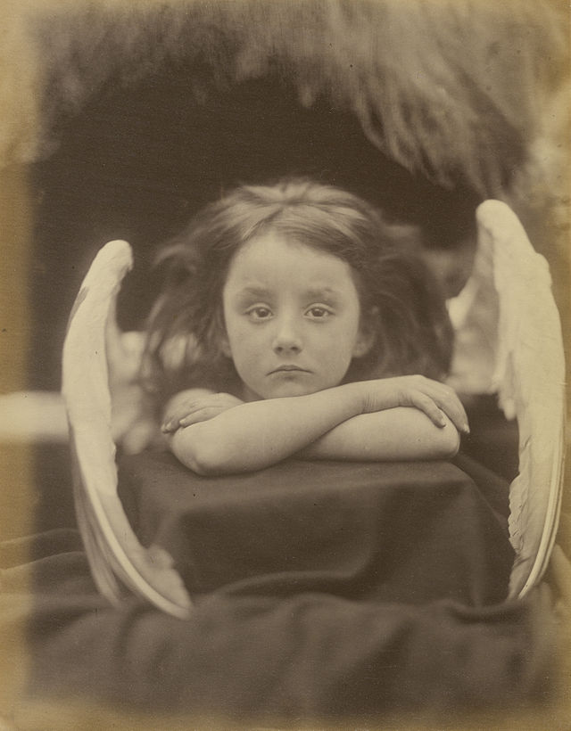 """I Wait"" by Julia Margaret Cameron (1872)"
