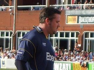 Ian Blackwell English cricketer and umpire