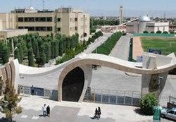 عکس سردردانشگاه تهران