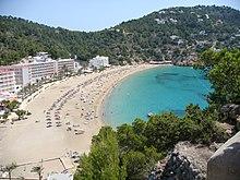 barcelona beaches map office du tourisme ibiza