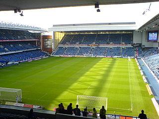 Ibrox Stadium Football stadium in Glasgow