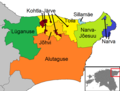 Ida-Viru municipalities 2017.png