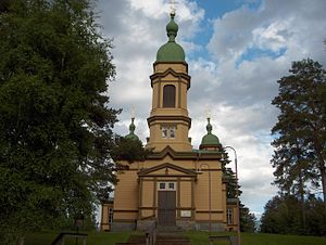 Ilomantsi - Church of Saint Prophet Elijah
