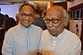 Imdadul Haq Milon with Sankha Ghosh - Kolkata 2015-10-10 5147.JPG