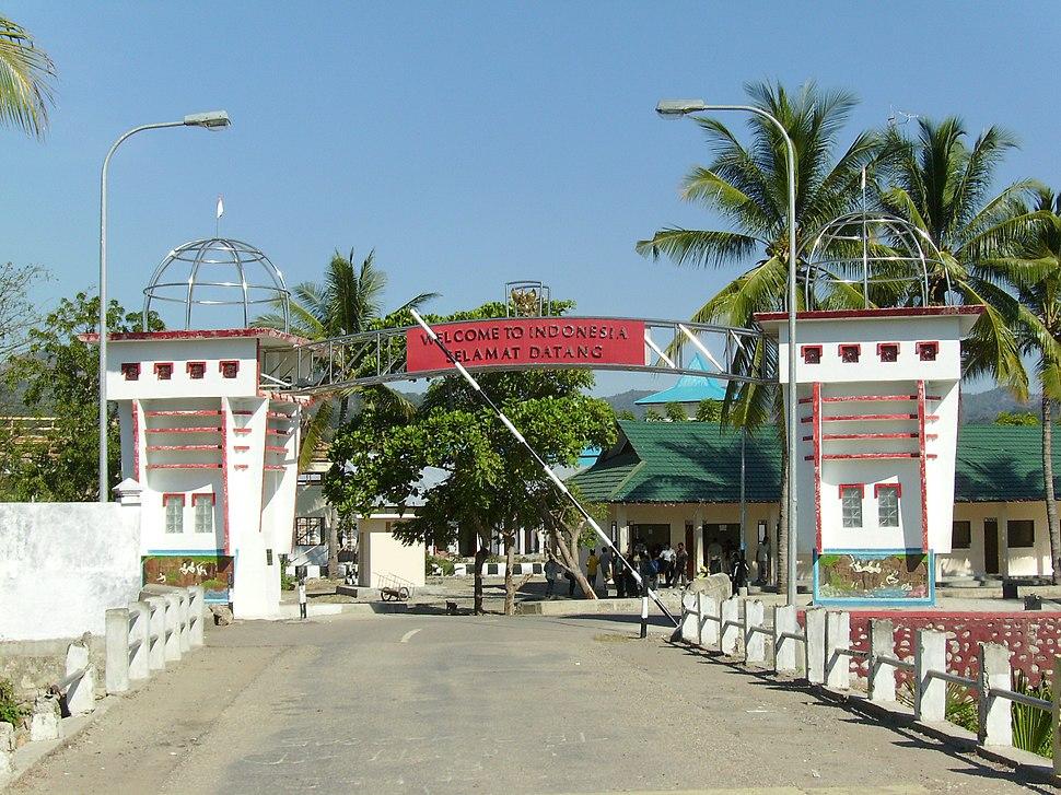 Indo-timor border