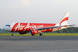 Indonesia AirAsia - Indonesia AirAsia in red and white livery