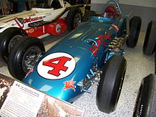 Winning car of the 1960 Indianapolis 500