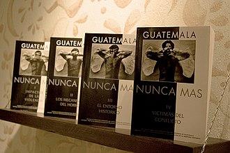 Juan José Gerardi Conedera - Guatemala: Nunca más, the REMHI Report.
