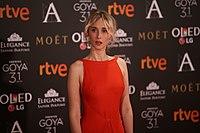 Ingrid García Jonsson at Premios Goya 2017.jpg