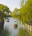 Inlet to lake at Beihai Park, Beijing.jpg
