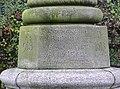 Inscription on the Aethelfleda Monument, Tamworth - geograph.org.uk - 1740817.jpg