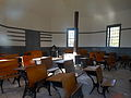 Inside the Octagonal Schoolhouse in Essex, NY.JPG