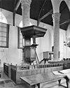 interieur- preekstoel en doophek - haamstede - 20095576 - rce