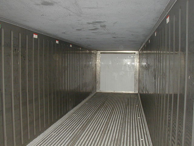 File Interior Reefercontainer Jpg Wikimedia Commons