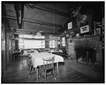Interior of dining room - Trail Shop, Lodge, 2750 North Fork Highway, Cody, Park County, WY HABS WYO,15-CODY.V,3G-8.tif