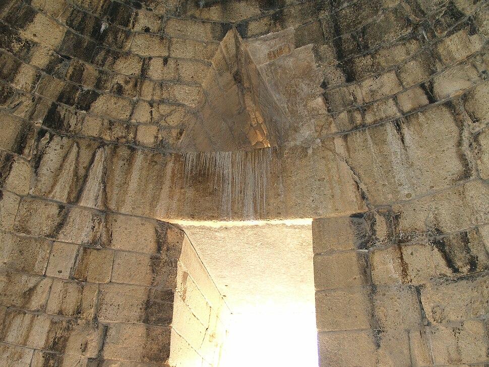 Interior of theTreasury of Atreus