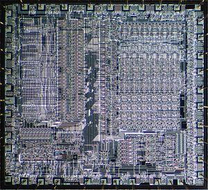 Intersil 6100 - Die of Intersil 6100.