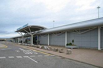 Inverness Airport - Image: Inverness (Dalcross) Airport geograph.org.uk 564487