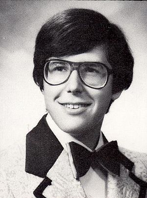 Ira Glass - Glass' high school senior portrait