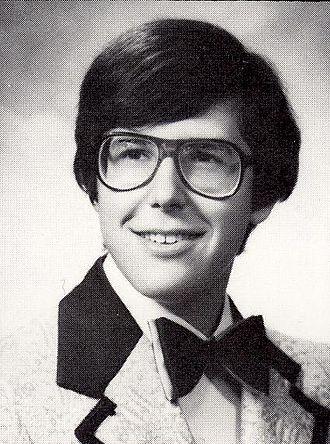 Ira Glass - Glass' high school senior portrait