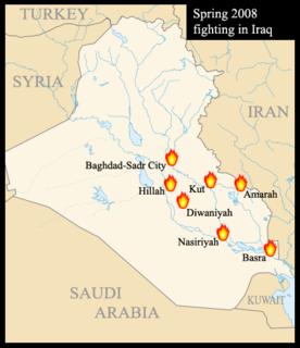 Iraq spring fighting of 2008