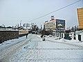 Irkutsk. February 2013. Barguzin, regional court, bus stop Volga, Diagnostic Center. - panoramio (23).jpg