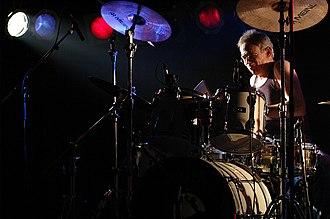 "Iron Butterfly - Ron Bushy, Iron Butterfly performing ""In a Gadda da Vida"", Germany, May 2005"