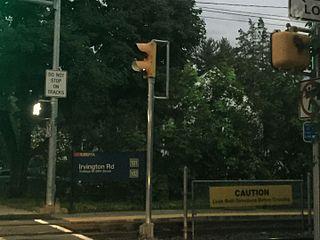 Irvington Road station SEPTA trolley station