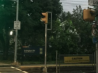 Irvington Road station - Irvington Road station