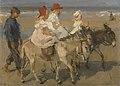 Isaac Israels - Ezeltje rijden langs het strand - SK-A-3597 - Rijksmuseum.jpg