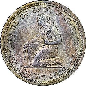 Isabella quarter - Image: Isabella quarter reverse