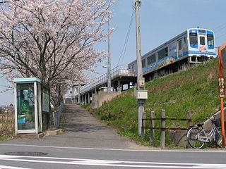 Ise-Ueno Station Railway station in Tsu, Mie Prefecture, Japan