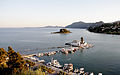 Islet of Pontikonisi and Vlacherna Monastery - Corfu - Ionian Islands - Greece - 4 Sept. 2012.jpg